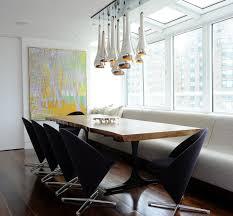 Dining Room Booth Extraordinary 40 Metallic Dining Room Decorating Design