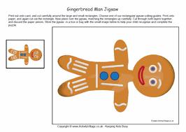 printable jigsaw gingerbread man