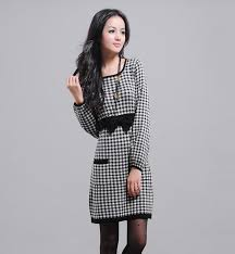 plaid dress for women laura williams