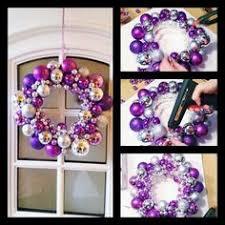 wreath tutorial ornament wreath diy