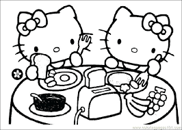 hello kitty heart free hello kitty ballerina coloring pages