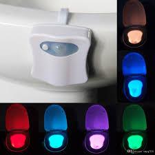 Bathroom Led Lighting 2017 Closestool Light Sale Human Motion Sensor Automatic Seat