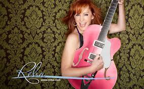 reba mcentire reba mcentire pink guitar carrie underwood