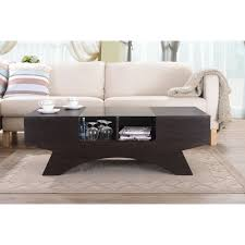 wooden design dark wooden coffee table design with a modern