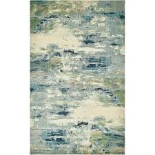 Orange And Blue Area Rug Awesome Zipcode Design Chenango Blue Area Rug Reviews Wayfair In