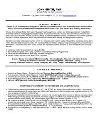 Service Delivery Manager Resume Sample by Entry Level Project Manager Resume Samples To Inspire You Vntask Com
