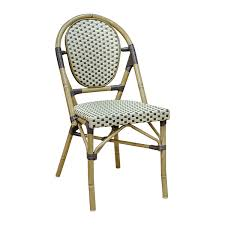 Green Bistro Chairs French Cafe Patio Chair Drfne6012