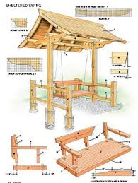 Wooden Garden Swing Seat Plans by 87 Best Garden Furniture Images On Pinterest Outdoor Furniture