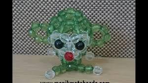 cara membuat kerajinan akrilik cara membuat kreasi manik mote akrilik bentuk monyet boncuk