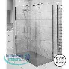 online bathroom store 10mm lana wetroom screens s bar cassellie lana 10mm glass wetroom screen support bar
