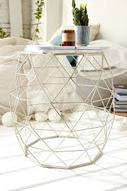 Innovative Half Round Accent Table With Small Half Circle Accent