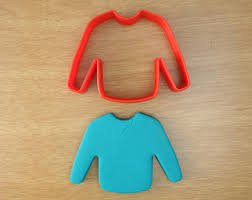sweater cookie cutter sweater etsy ca