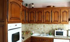 repeindre meuble cuisine chene cuisine rustique chene renover meuble cuisine rustique toulouse
