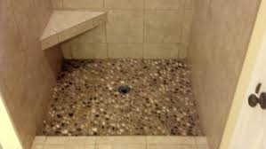 river rock bathroom ideas connelly residential services tiling river rock bathroom tile