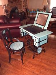 sewing machine table ideas 30 diy ideas to recycle your old sewing machines