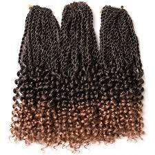 ombre senegalese twists braiding hair verves 14 18 inch 1 pack ombre senegalese twist crochet braids