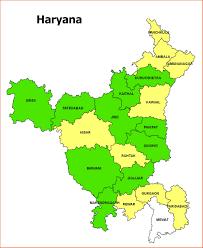 Gurgaon India Map by Haryana Map
