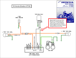 1988 honda shadow vt1100 turning signal wiring diagram 2007