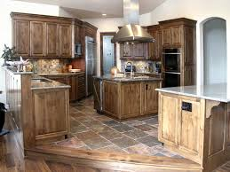 Rustic Alder Kitchen Cabinets Kitchens Unique Design Cabinet Co