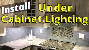 how to install lighting your kitchen cabinets how to install cabinet lighting in the kitchen hardwired