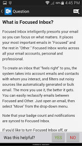 hands on with outlook for android techrepublic