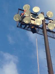 who to call when street lights are out sports field lighting