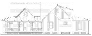 the live oak cottage house plans by garrell associates inc