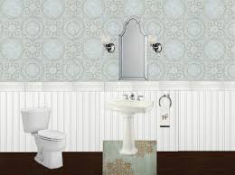 Allen And Roth Wallpaper by Half Bath Reveal Powder Room Home Stories A To Z