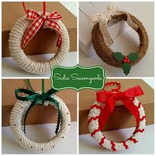 mason jar lid wreath ornaments simple christmas crafts simple