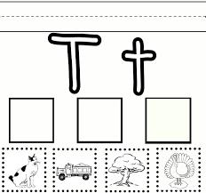 letter t worksheets gplusnick