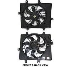 chrysler pt cruiser radiator fan radiator fan assm 01 05 pt cruiser non turbo models busted auto parts