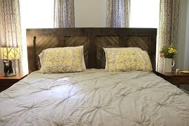 bedroom endearing domestic observances diy king sized headboard