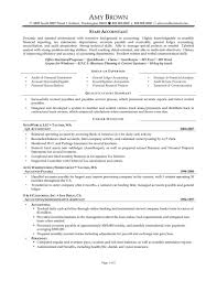 Accountant Resume Sample by Accounting Resume Skills Summary Summary For Accounting Resume It