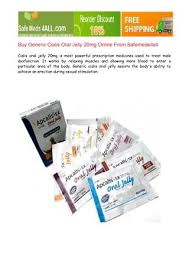 buy generic cialis oral jelly 20mg online by safemeds4all issuu