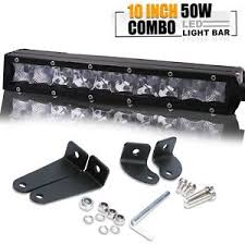 off road light bars 10 inch 50w slim low profile led work light bar ford rear bumper off
