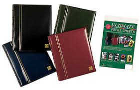 Photo Album Refills The Ultimate Ring Binder Leatherette Combination Photo Album And