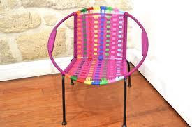 chaise tress e fauteuil design africain pour enfants tressé oranjade