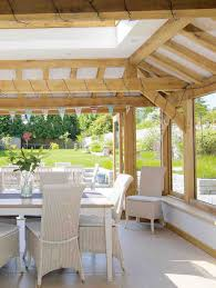 Kitchen Conservatory Designs by How To Add An Oak Frame Extension Period Living