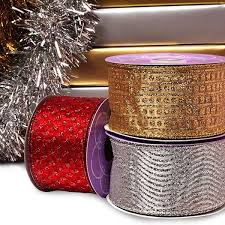 wide christmas ribbon wide christmas ribbon shop with ribbons
