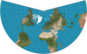 what is a map projection lambert conformal conic projection