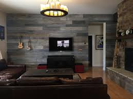 diy weathered barn wood wall time lapse
