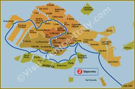 venice vaporetto map water venice vaporetto map of line 2 actv