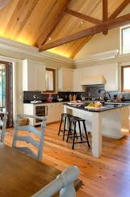 triangle shaped kitchen island l shaped kitchen common but ideal kitchen designs homesfeed