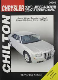 chilton tcc chrysler 300 charger u0026 magnum 05 10 chilton u0027s total