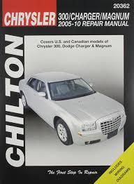 chilton tcc chrysler 300 charger u0026 magnum 05 10 chilton u0027s total