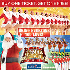 rockettes tickets radio city christmas spectacular discount ticket offer
