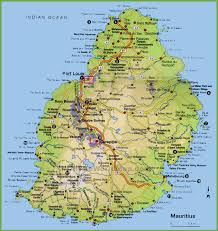 Italy Mountains Map by Mauritius Tourist Map