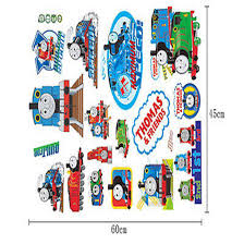 compare prices on thomas decal online shopping buy low price thomas wall stickers removable cartoon mural decal vinyl nursery kids room decor china mainland