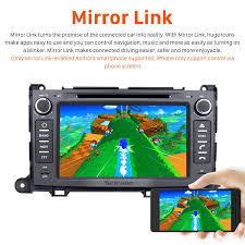 aftermarket android 7 1 gps navigation system for 2013 2016 toyota