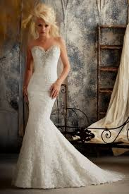 mermaid wedding dresses with sweetheart neckline with bling naf
